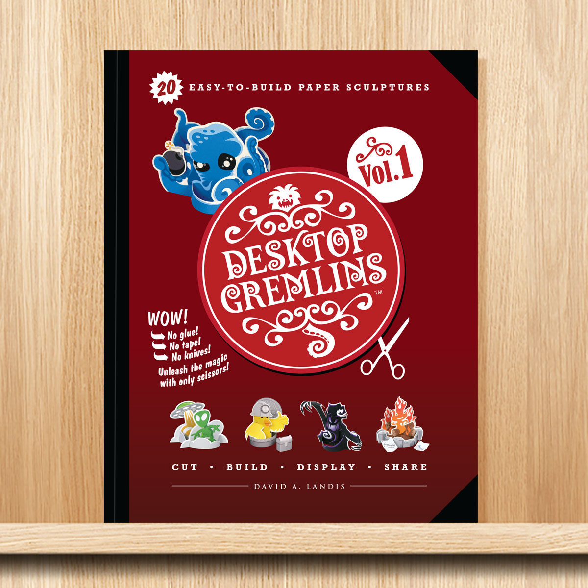 Desktop Gremlins Book by Landis Productions