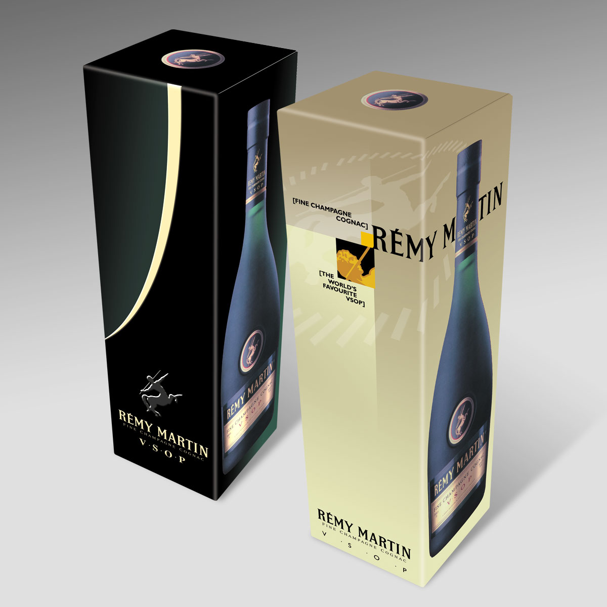 Remy Martin Package Design by Landis Productions