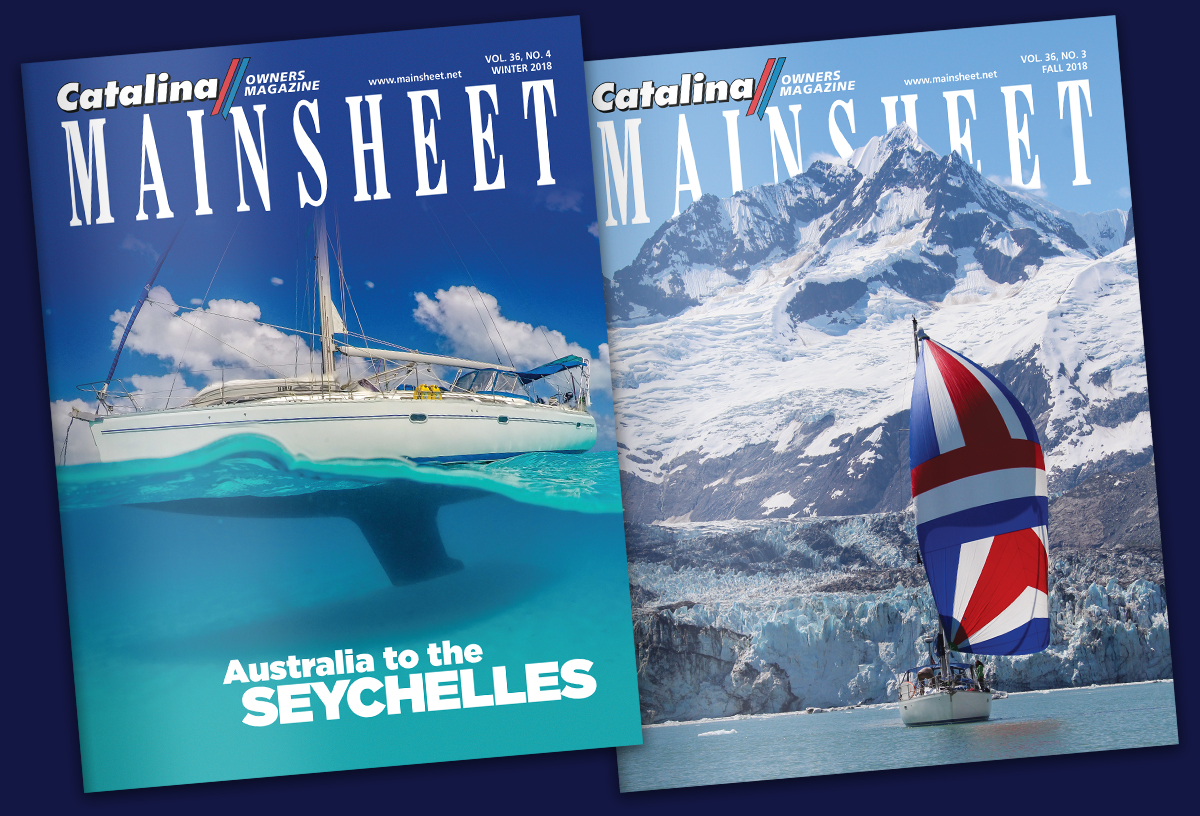 Catalina Mainsheet Magazine Design by Landis Productions