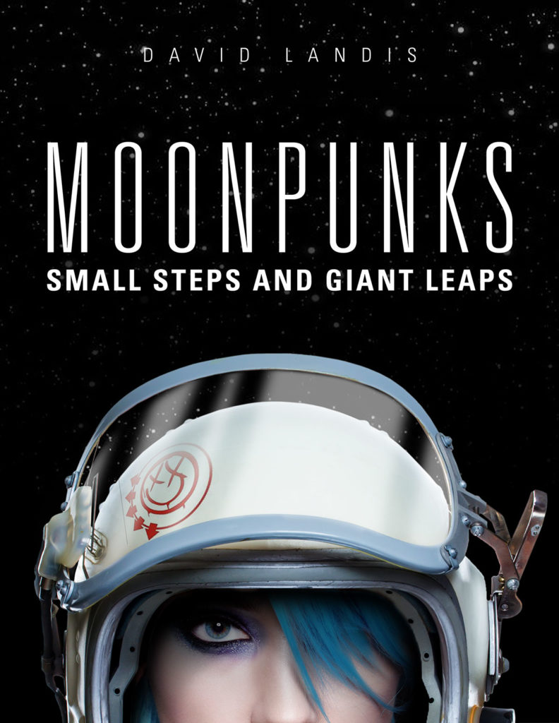 MoonPunks Book Cover Design by Landis Productions