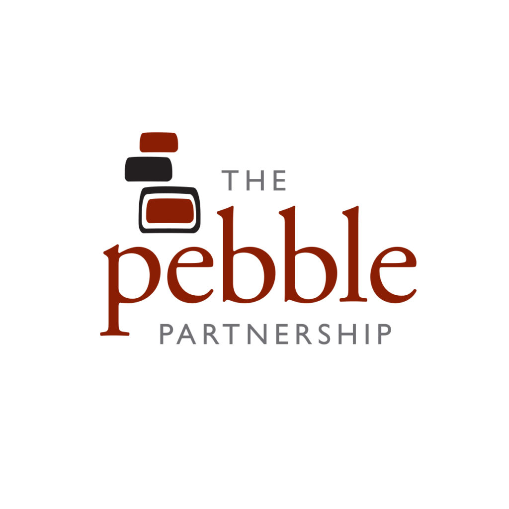 The Pebble Partnership Logo by Landis Productions