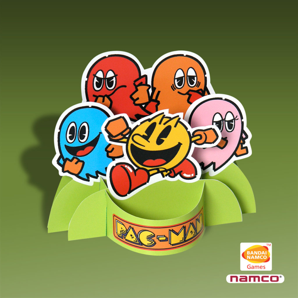 Pac Man Papercraft by Landis Productions