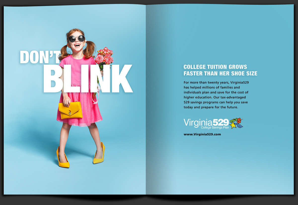 Virginia College Savings Plan Advertising Campaign by Landis Productions