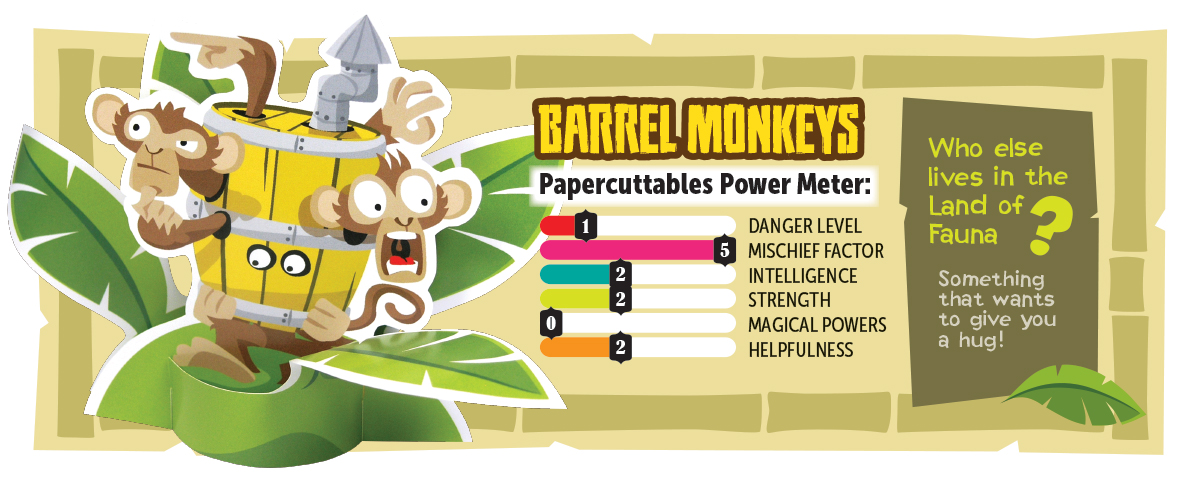 Papercuttables Fauna