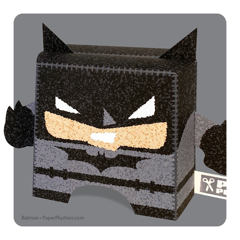 Paper Plushies Batman by Landis Productions