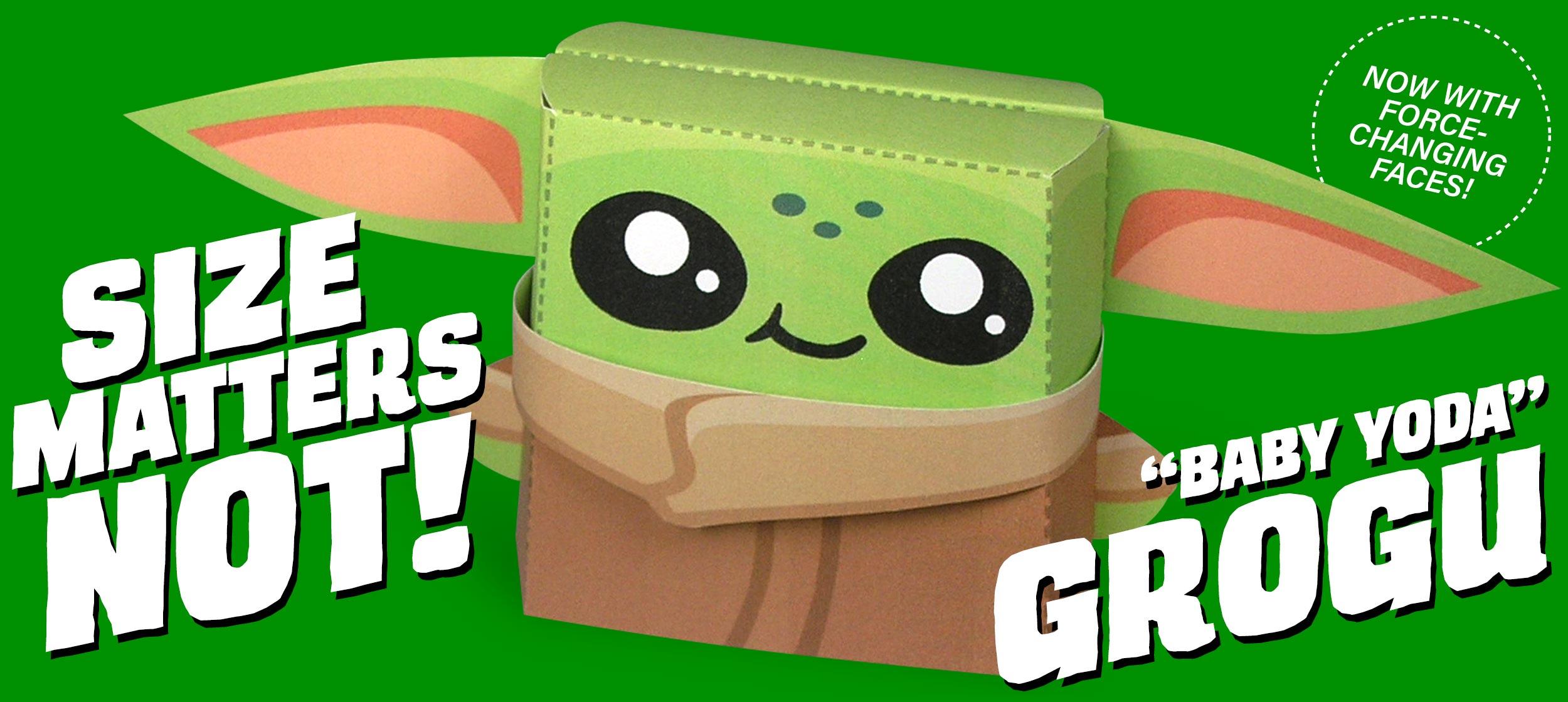 Kooky Craftables Grogu Baby Yoda Paper Craft