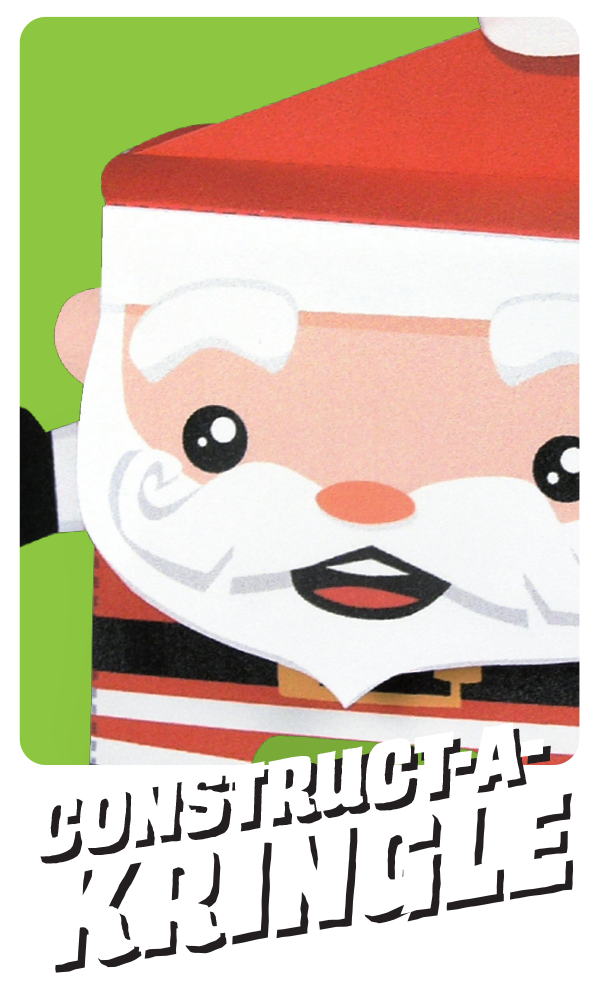 Kooky Craftables Santa Paper Craft