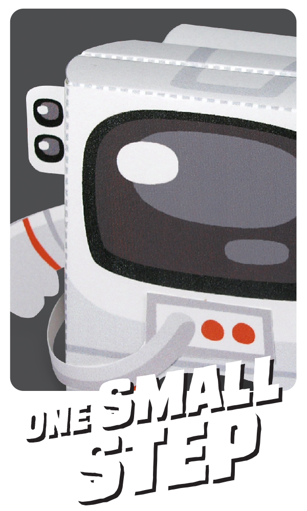 Kooky Craftables Astronaut Paper Craft