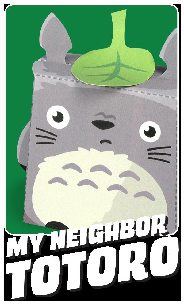 Kooky Craftables Totoro Paper Toy