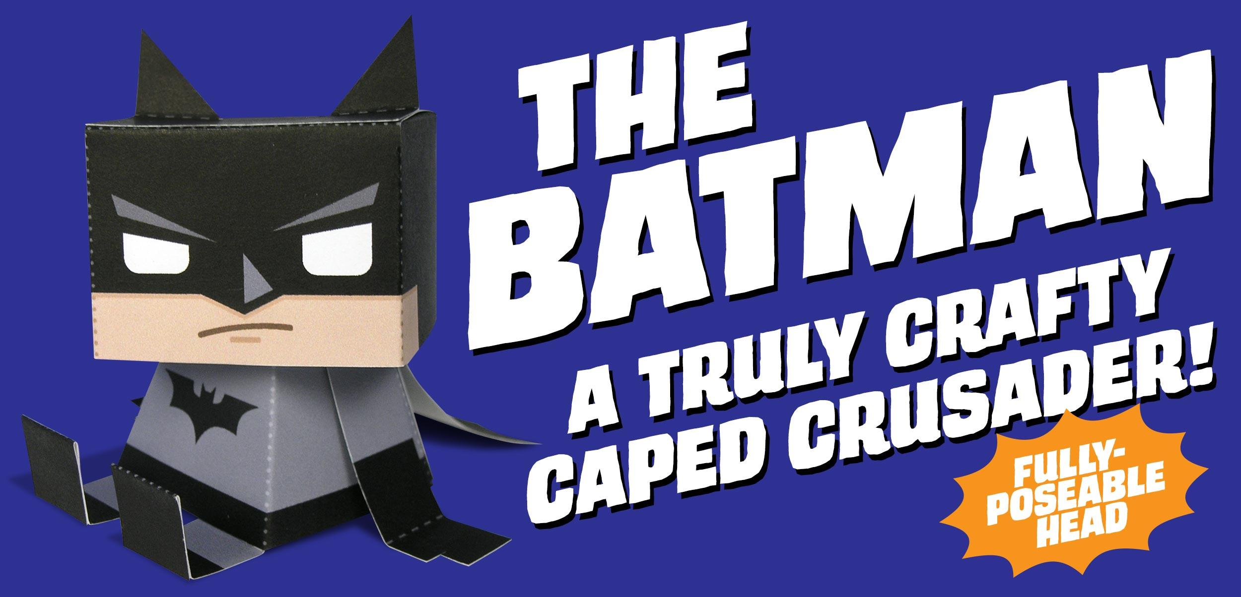 Batman Kooky Craftables Paper Craft